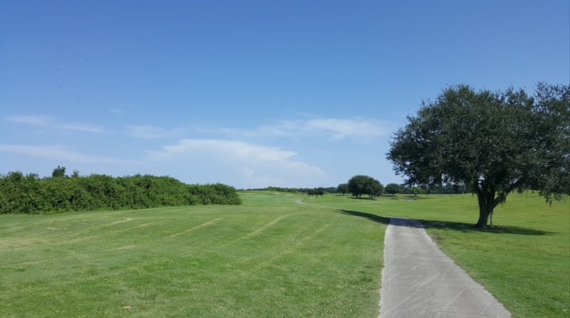 View of the course at Buffalo Creek
